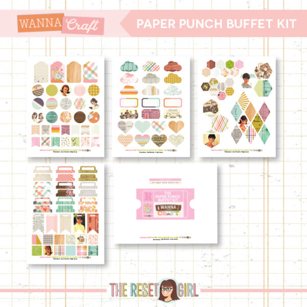 Paper Punch Buffet Kit >> Wanna Craft