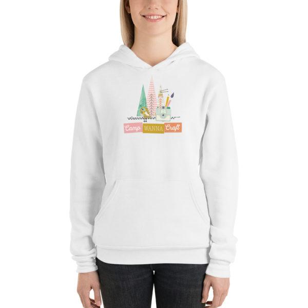 Camp Wanna Craft Cluster Unisex hoodie