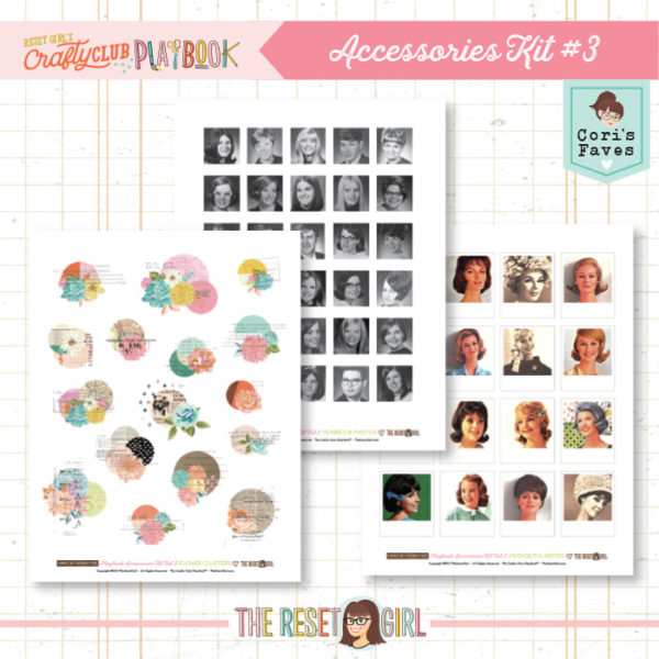 The Reset Girl's Crafty Club PlayBook Accessories Kit Vol.3