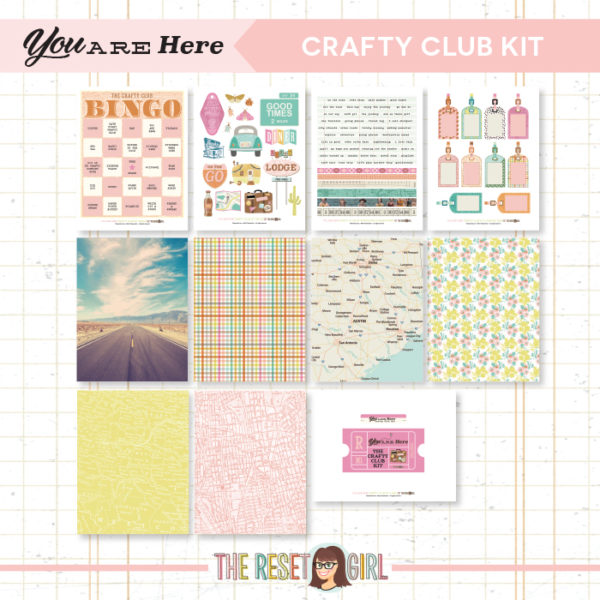 Crafty Club Kit >> You Are Here