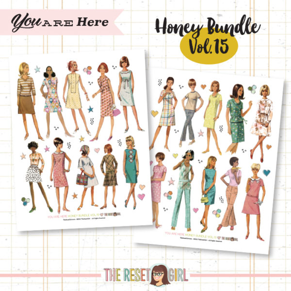 Honey Bundle #15 >> You Are Here