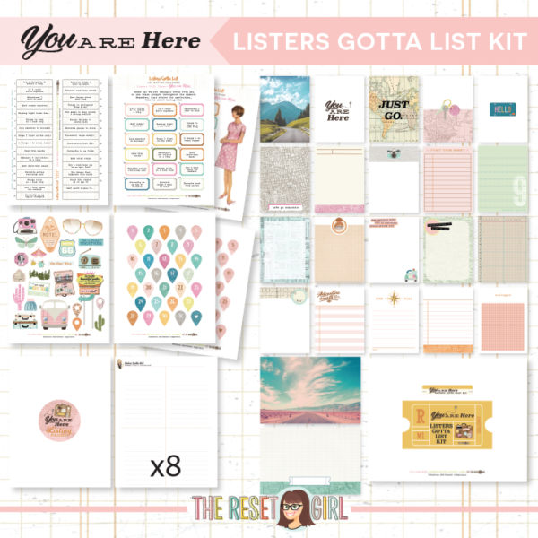 Listers Gotta List Kit >> You Are Here