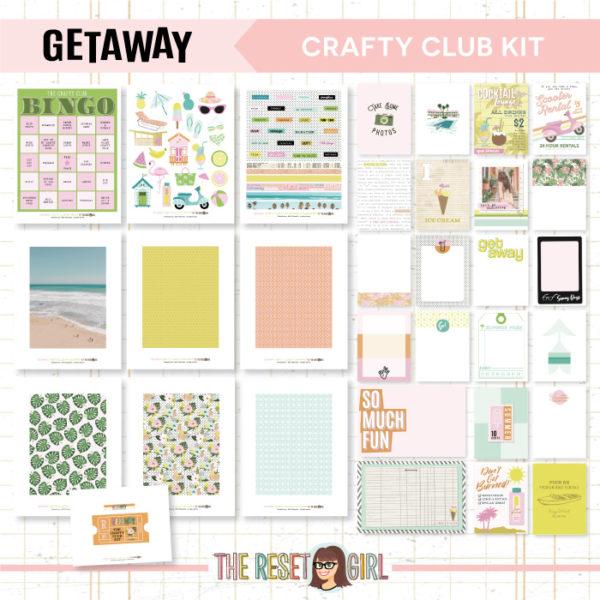 Crafty Club Kit >> Getaway