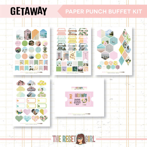 Paper Punch Buffet Kit >> Getaway