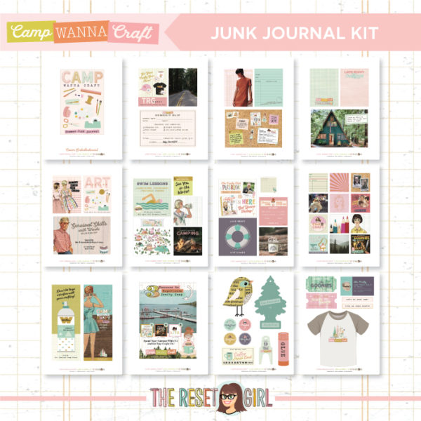 The CWC Junk Journal Kit
