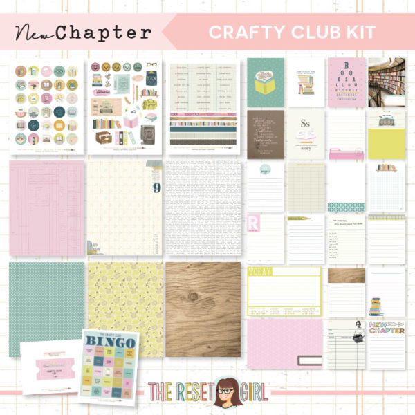 New Chapter >> Crafty Club Kit