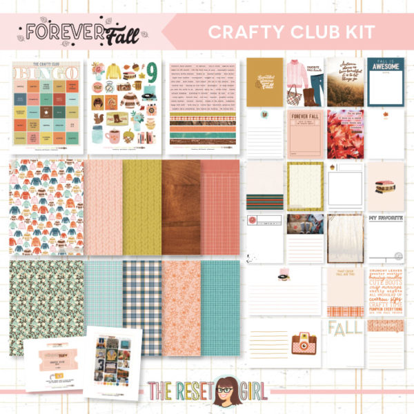 Forever Fall Crafty Club Kit