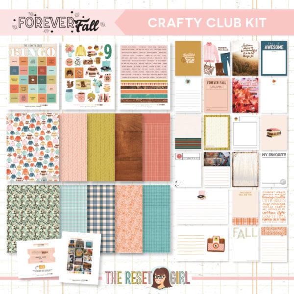 Forever Fall Crafty Club Kit