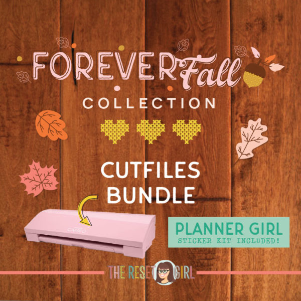 Forever Fall Cut Files Bundle