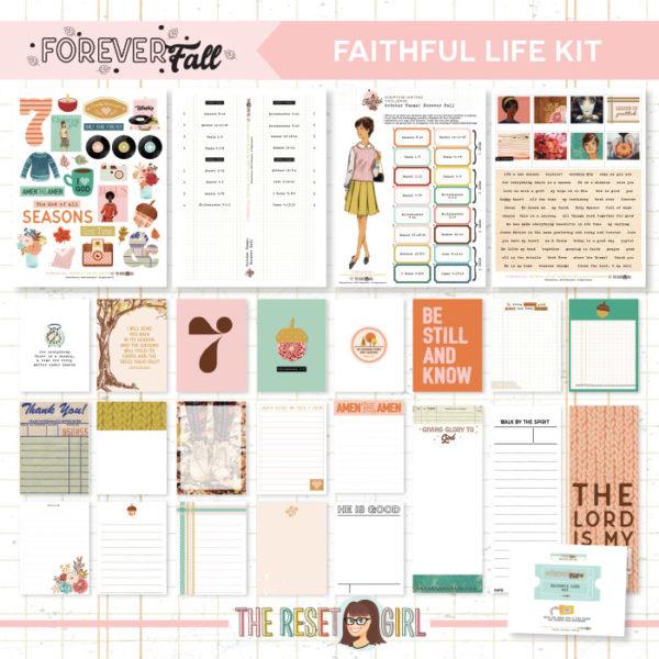 Forever Fall Faithful Life Kit
