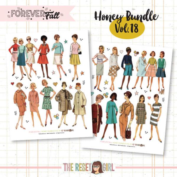 Forever Fall Honey Bundle #18