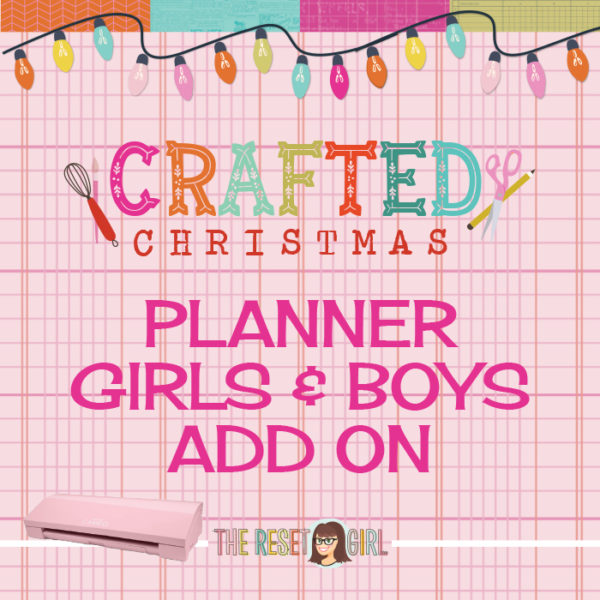 Crafted Christmas Planner Girls and Boys