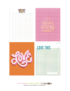 Still Smitten Printables + Cut Files Bundle