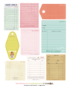 The Harmony Kit Printables Only