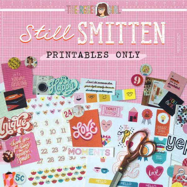 Still Smitten Printables Only