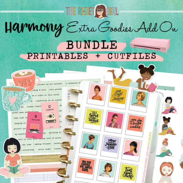 The Harmony Kit Extra Goodies Add On Printables + Cut Files Bundle