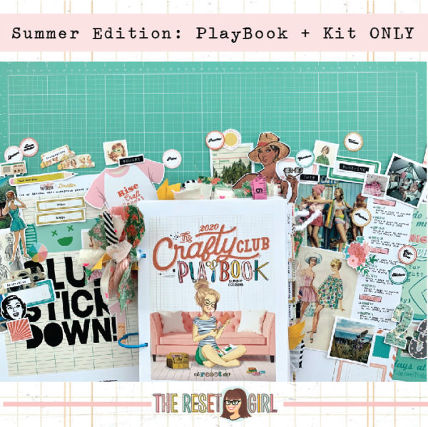 The Crafty Club Playbook 2020 Summer Edition + Kit