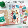 The First Love Club Retro Bible Tabs + Cut Files