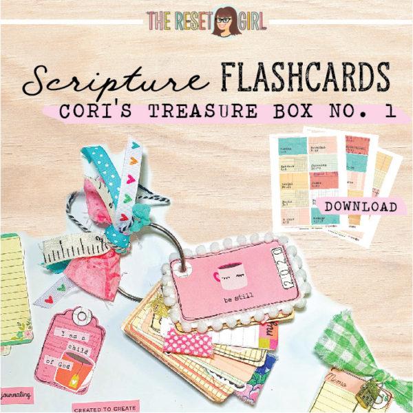 Scripture Flashcards - Cori's Treasure Box No. 1
