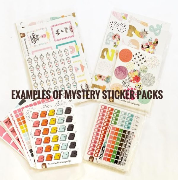 Mystery Sticker Bundle - This IS physical product